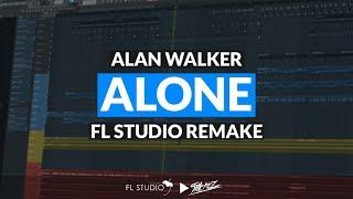 Video Alan Walker - Alone (Instrumental/FL Studio Remake) download MP3, 3GP, MP4, WEBM, AVI, FLV Juni 2018