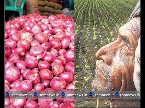 ANM NEWS 25052018 नासिक मे एक रुपये किलो प्याज    ১ টাকা কেজি পেঁয়াজ, মাথায় হাত কৃষকের