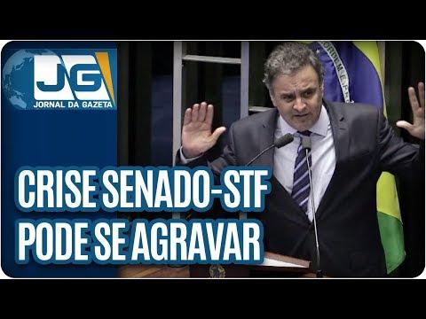 Crise Senado-STF pode se agravar