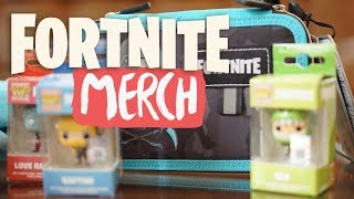 Fortnite Fanartikel Haul - Giveaway - Fortnite Battle Royale Merch Critique