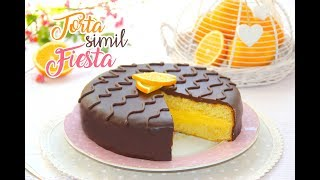 TORTA SIMIL FIESTA ARANCIA E CIOCCOLATO 🍊🍫| Chocolate and orange cake
