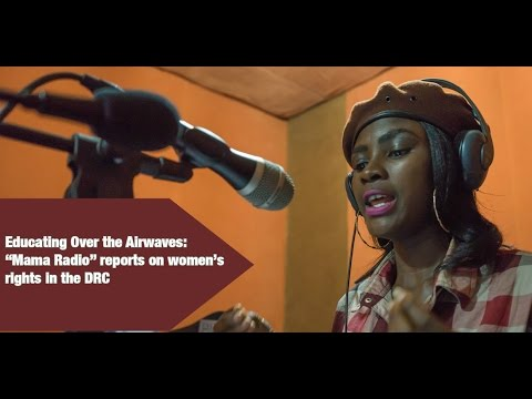 The Radio Carries a Message of Equality for Women in DRC