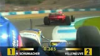 Villeneuve vs Schumacher