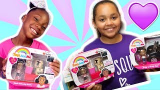TIANA WILSON Toys And Me Classic Unboxing Studio! TT SQUAD!