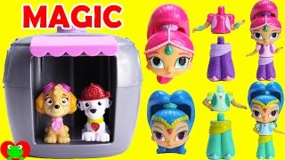 Paw Patrol Skye's Magical Pup House Helps Grow Shimmer and Shine