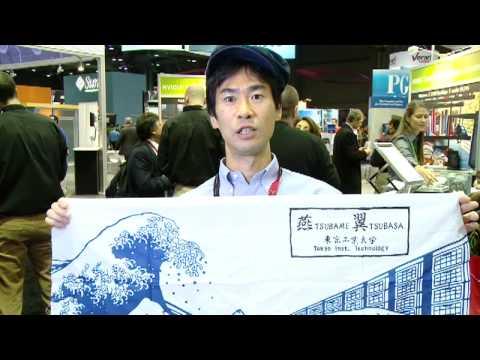 Hideyuki Torii CEO of Numerical Technologies in Tokyo  talks about CUDA