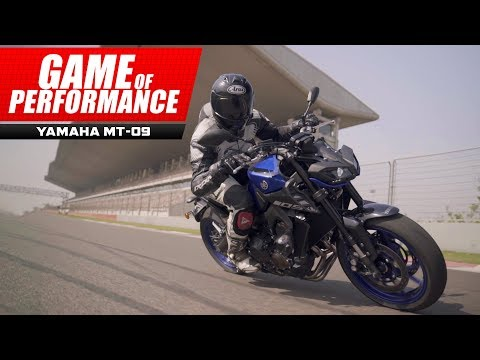 2019 Yamaha MT-09 : Sporty, mean and surprising! : Michelin Game of Performance : PowerDrift