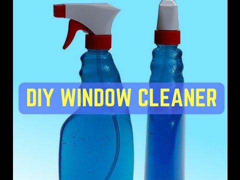 Homemade Window Cleaner | How To Make Glass Cleaner At Home | DIY Window Cleaner