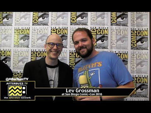 Lev Grossman (The Magicians) at San Diego Comic-Con 2016
