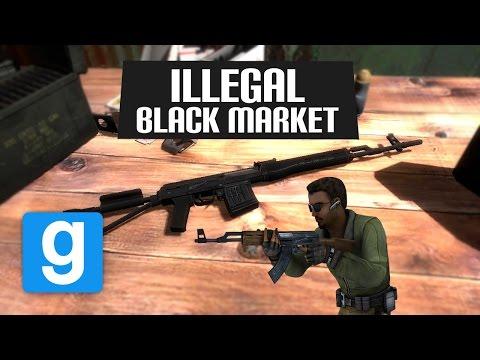 ILLEGAL black market! (Garry's Mod DarkRP)