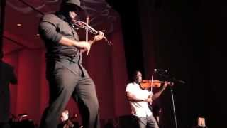 "Black Violin performs ""Fanfare"" w/ The Imperial Symphony Orchestra (2014)"