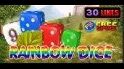 Rainbow Dice - Slot Machine - 30 Lines