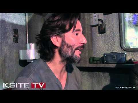 The 100 Season 3 on Set: Henry Ian Cusick Kane