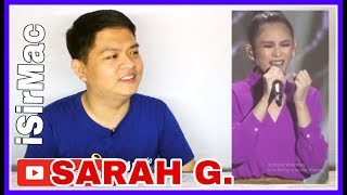 Sarah Geronimo - Shallow (Reaction) iSirMac