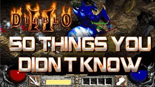 50 Things You Didn't Know About Diablo 2
