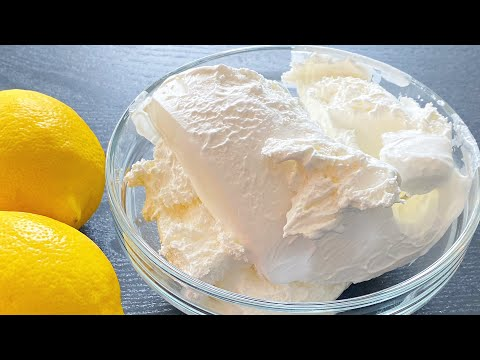 LEMON Whipped Cream! - MANCAKE