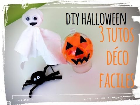 diy halloween 3 activit s d co youtube. Black Bedroom Furniture Sets. Home Design Ideas