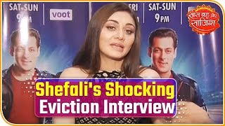 Bigg Boss13: Shefali Jariwala Shocking Eviction Interview, Says Asim Is Ungrateful!