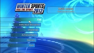 Winter Sports 2012: Feel the Spirit - Wii Gameplay