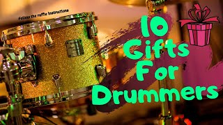 Gifts For Musicians [music Lovers] Gifts For Drummers