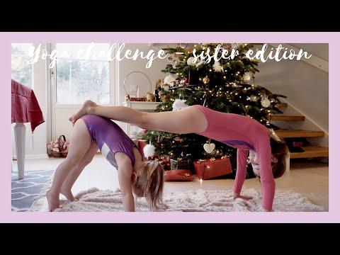 Yoga Challenge for kids - Sister Edition