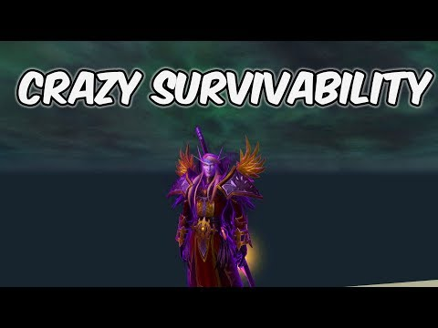 Crazy Survivability - Shadow Priest PvP - WoW BFA 8.1
