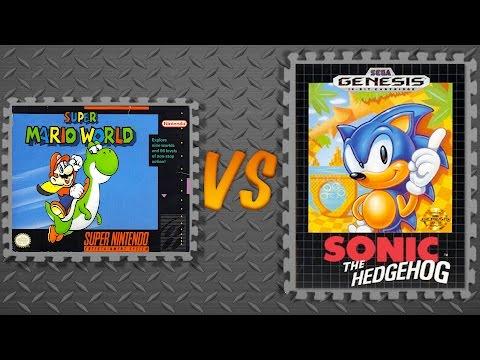 Super Mario World vs. Sonic the Hedgehog
