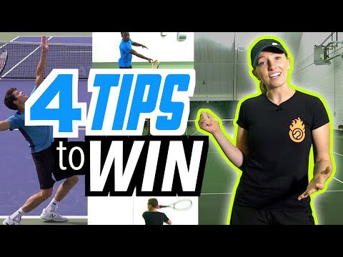 4 Tips to Win More Tennis Matches