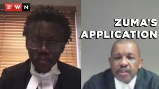 The Pietermaritzburg High Court heard former President Jacob Zuma's application to have his order of arrest rescinded. Zuma was represented by Dali Mpofu SC, who stated that Zuma's treatment constituted an 'exceptional circumstance'. The commission of inquiry into state capture, represented by Tembeka Ngcukaitobi SC, labeled Zuma as a 'repetitive law breaker' who was 'asking the court to assist him to do so some more'.  #ZondoCommission #TembekaNgcukaitobi #DaliMpofu #JacobZuma