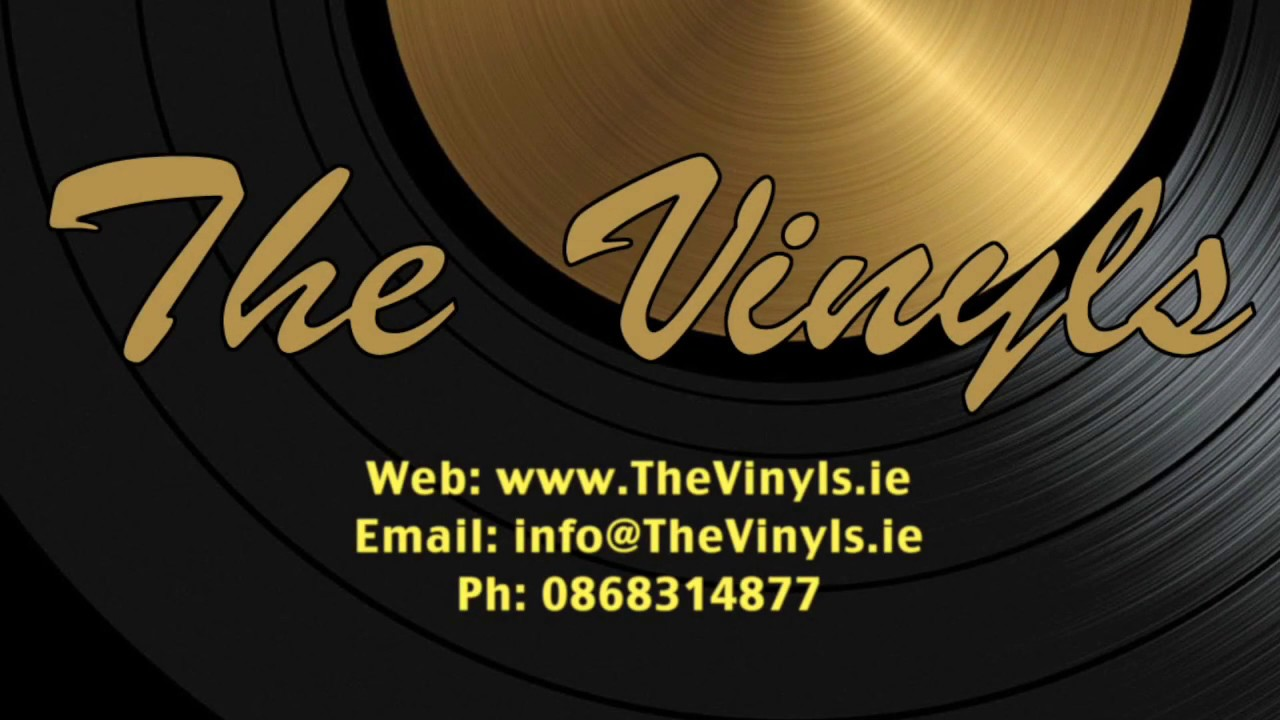 The Vinyls Irish Wedding Band Youtube