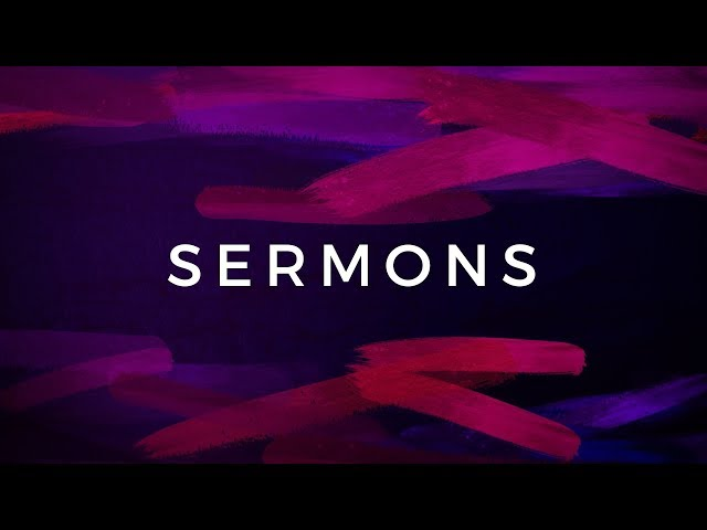 2018.12.31 - New Year Eve Sermon