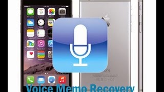 How to Recover Deleted Voice Momos from iPhone 7/6/6s/6 Plus/6s Plus/5s/5c/5/SE
