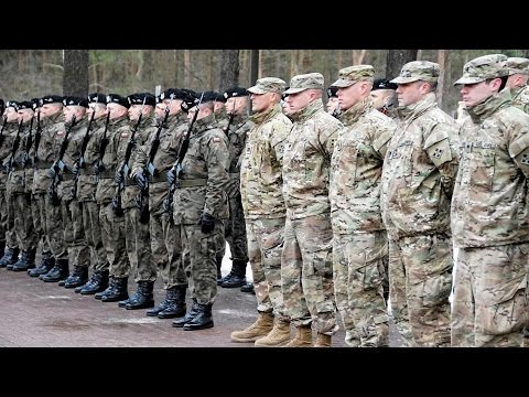 """US Troops Enter Poland As A """"Deterrent"""" Against Russia"""