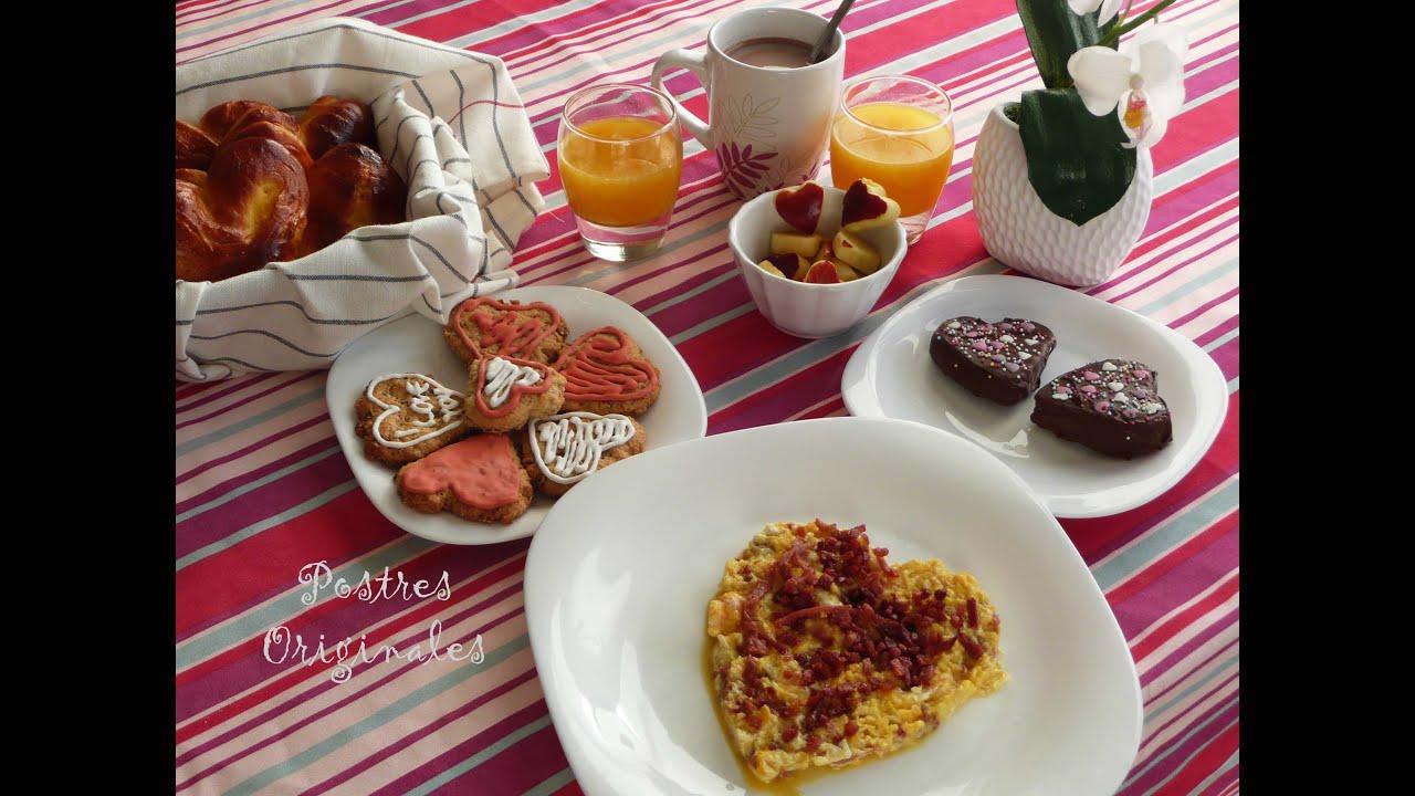 Desayuno rom ntico para sorprender desayuno f cil - Como sorprender a mi pareja en su cumpleanos ...