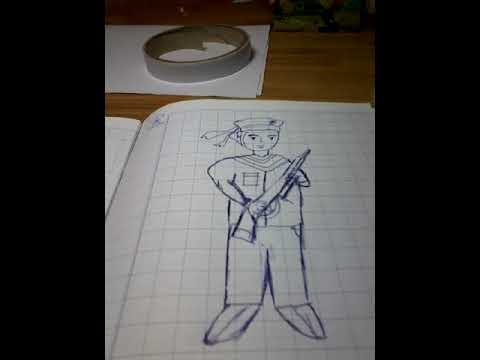 Bày cách vẽ hải quân