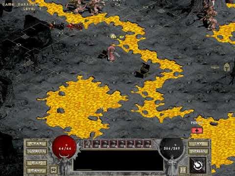 Diablo 1 (Hell 2 MOD) Mage - Warlock part 6