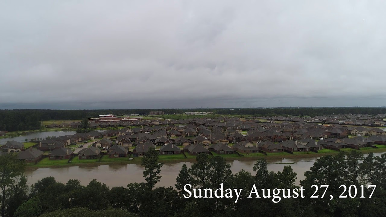 The Woodlands Texas Flooding >> Hurricane Harvey Tomball TX 2017 | Doovi