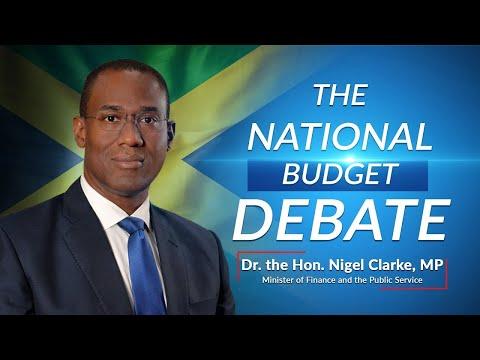 Jamaica's National Budget Debate 2021/2022 – Minister of Finance - Dr the Hon. Nigel Clarke
