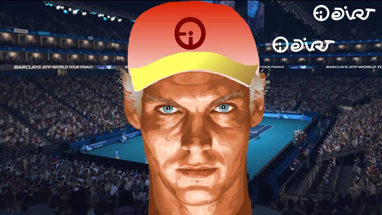 TOMAS BERDYCH naked life al desnudo ATP Master Tennis