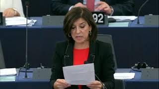 Izaskun Bilbao Barandica 11 Dec 2018 plenary speech on Terrorism
