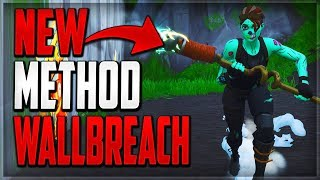 GLITCHES FORTNITE BATTLE ROYALE - 2 NEW EASY UNDER THE MAP WALLBREACH GOD MODE GLITCHES FORTNITE BR