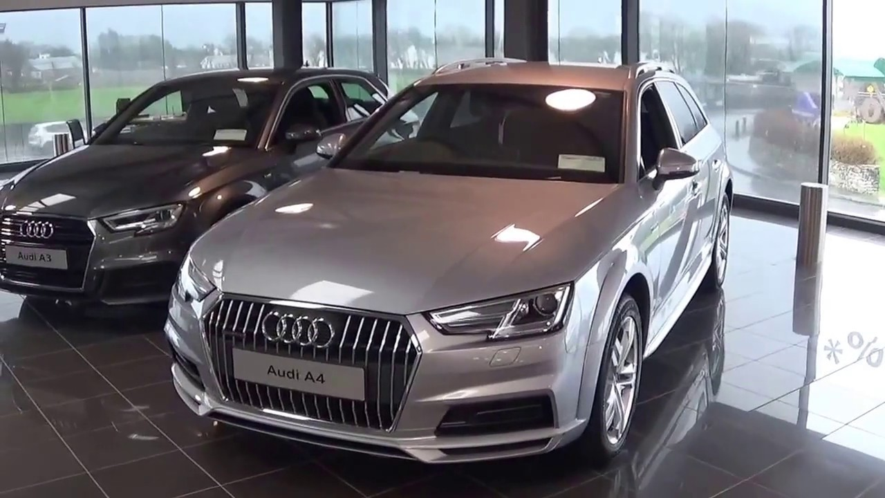 2018 audi a4 silver. cmg audi galway a4 allroad 2.0tdi 190hp quattro s-tronic 2018 silver