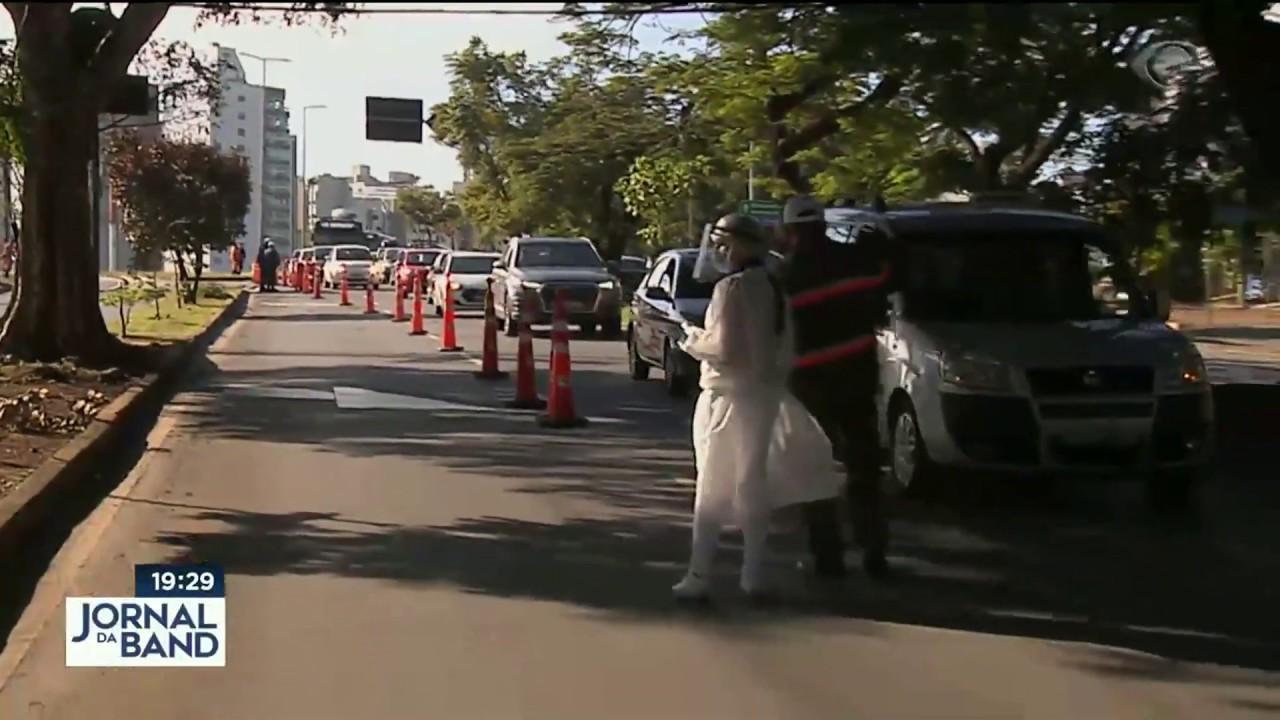 Notícias - Belo Horizonte tem barreiras sanitárias para monitorar coronavírus - online