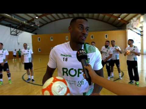 Taça de Portugal Futsal: Bola ao ângulo com Sporting CP