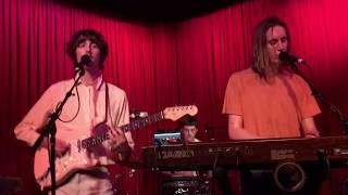 Parcels - Overnight - Live @ The Hotel Cafe 9-11-17 in HD