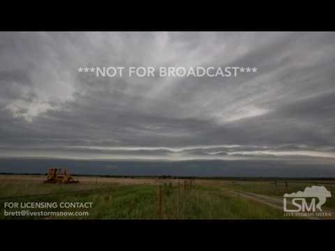 06-15-2017 Severy, Kansas - Shelf Cloud Time Lapse