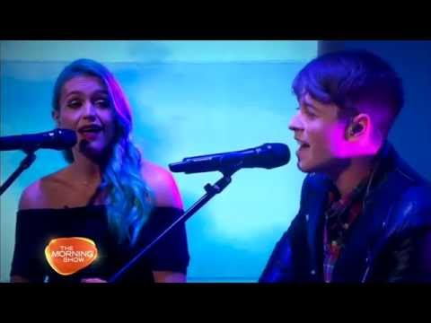 Chris Watts -Wrong or Right (ft. Amy Sheppard) LIVE on The Morning Show CH7