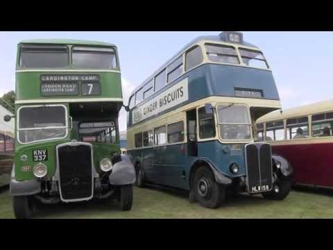 West Riding Bus Running Day, Heath Common, 2015