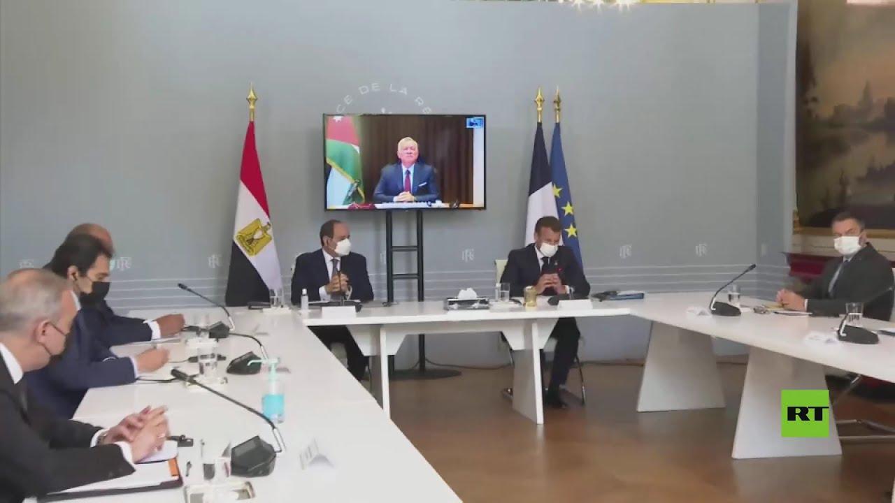 ماكرون يستقبل السيسي ليشاركا في لقاء القمة المتلفز مع الملك الأردني عبدالله الثاني  - نشر قبل 38 دقيقة