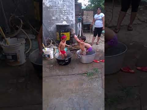 funny videos //kids enjoying n funn/ open bath